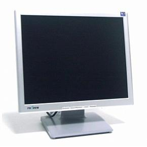 "Монитор ЖК Proview 17"" SP716KP (700P) 1280x1024 TFT TN, серебристо-чёрный"