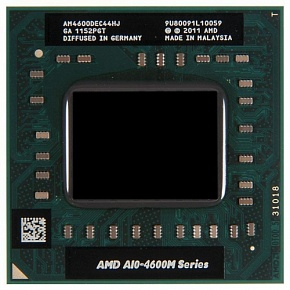 Процессор AMD A10-4600M AM4600DEC44HJ Socket FS1, 2.3ГГц, 4Мб, OEM