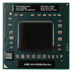 Процессор AMD A6-3400M AM3400DDX43GX Socket FS1, 1.4ГГц, 4Мб, OEM