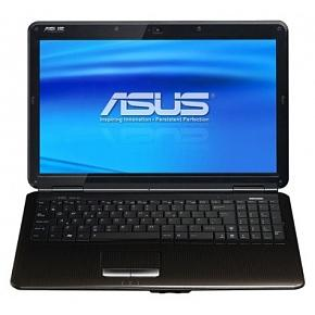 "Ноутбук Asus K50AD, 15.6"" HD LED, AMD Athlon II M340 2.2Ггц, 2Гб, HDD 200Гб, AMD Radeon 4570 512Мб, DVD-RW, Windows 7 HB, коричневый"