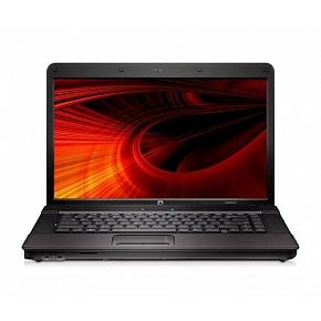 "Ноутбук HP Compaq 615, 15.6"" HD LED, AMD Turion X2 RM-74 2.2ГГц, 2Гб, HDD 160Гб, ATI HD 320 256Мб, DVD-RW, Windows 7 HB, серебристо-чёрный"